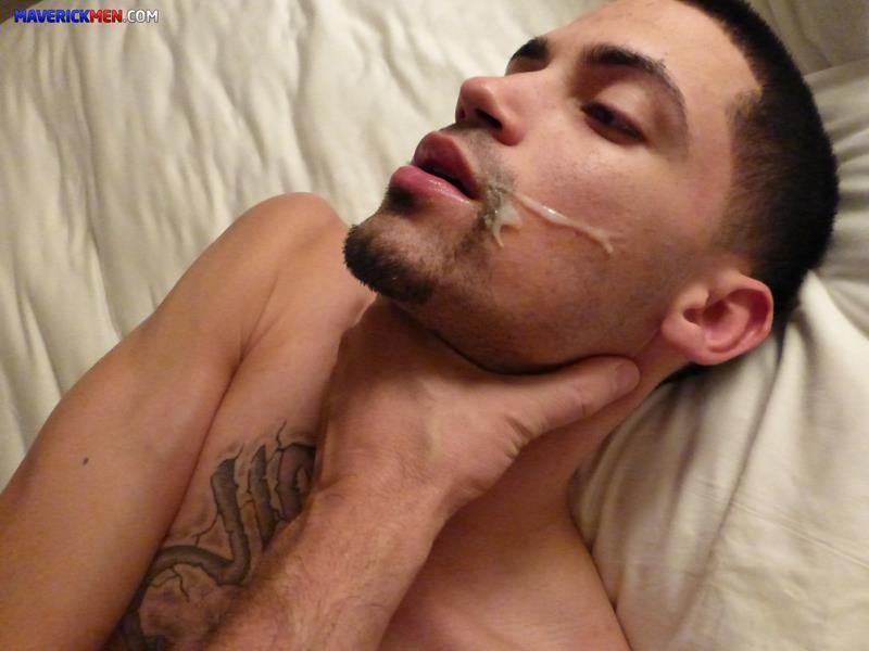 Maverick-Men-Dougie-Puerto-Rican-Thug-Getting-Barebacked-By-Two-Muscle-Daddies-Amateur-Gay-Porn-4 Young Puerto Rican Thug Gets Barebacked By Two Muscle Daddies