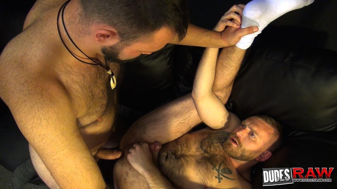 Dudes-Raw-Kodah-Filmore-and-James-Roscoe-Barebacking-A-Hairy-Ass-Piggy-Sex-Amateur-Gay-Porn-01 Pure Pigs:  Kodah Filmore Breeding James Roscoe