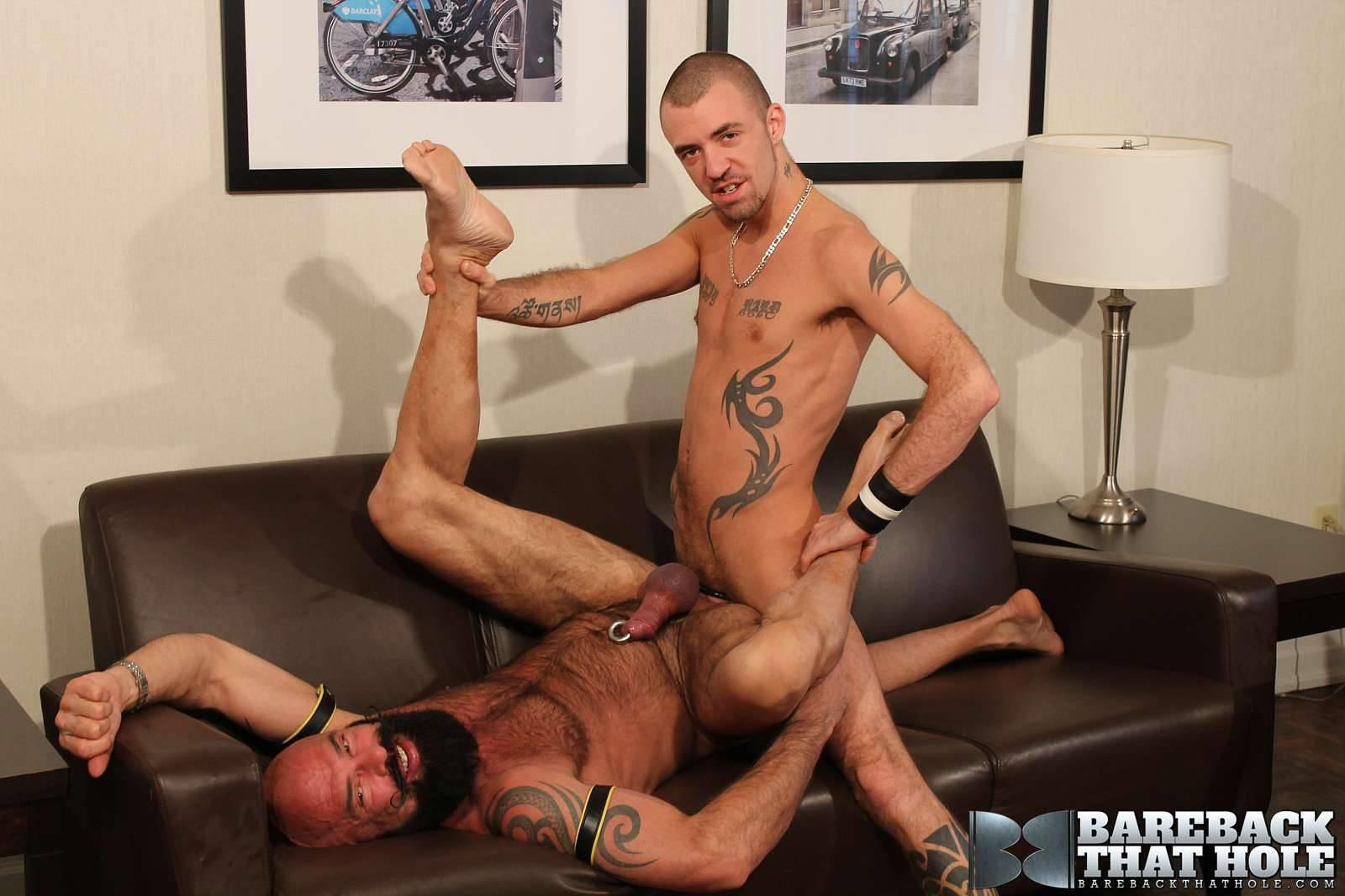 Bareback-That-Hole-Jessy-Karson-and-John-Stache-Daddy-Getting-Barebacked-By-Big-Uncut-Cock-Amateur-Gay-Porn-19 Hairy Muscle Daddy Gets Barebacked By A Younger Big Uncut Cock