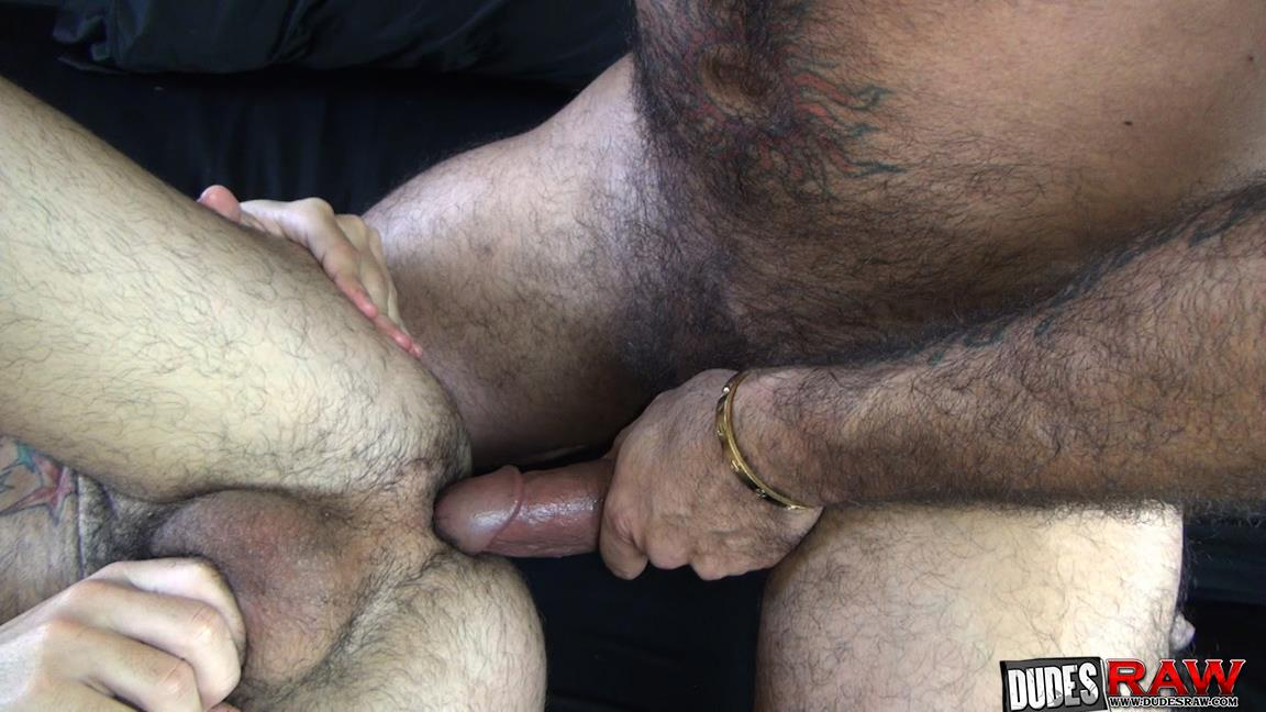 Dudes-Raw-Alessio-Romero-and-Nick-Cross-Hairy-Latino-Muscle-Daddy-Barebacking-Amateur-Gay-Porn-11 Hairy Muscle Daddy Alessio Romero Barebacking Nick Cross