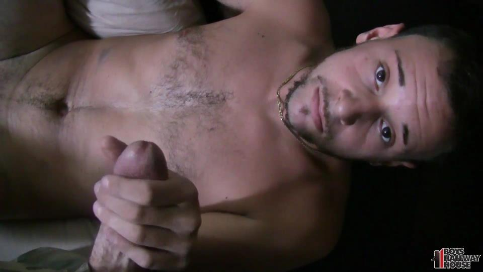 Boys-Halfway-House-Aaron-Straight-Guy-Getting-Fucked-Bareback-Amateur-Gay-Porn-13 Delinquent Straight Boy Forced Into Bareback Sex And Cum Eating