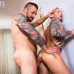 Lucas-Entertainment-Dylan-James-and-Hugh-Hunter-Muscular-Bareback-Amateur-Gay-Porn-05-150x150 Muscular Hunks Dylan James And Hugh Hunter Fucking Bareback