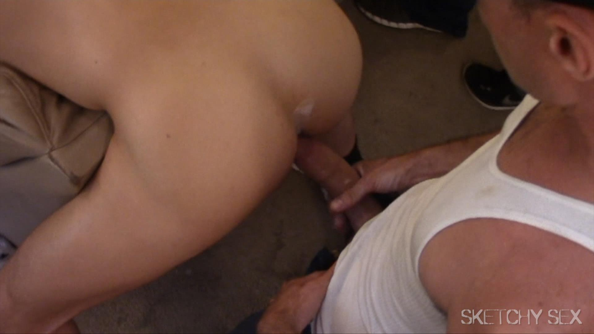 Sketchy-Sex-Download-Free-Video-Bareback-Sex-Party-Amateur-Gay-Porn-21 Jock Takes As Many Raw Loads Up The Ass As Possible