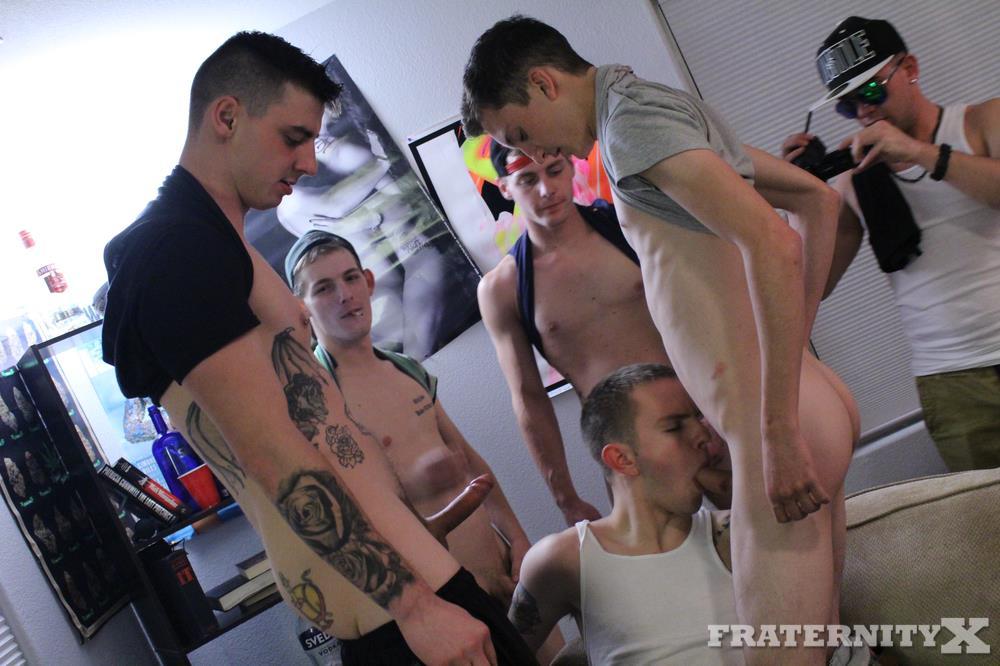 Fraternity-X-Naked-Frat-Guys-Bareback-Sex-Gangbang-35 Fraternity Boys Getting Stoned And A Bareback Gangbang