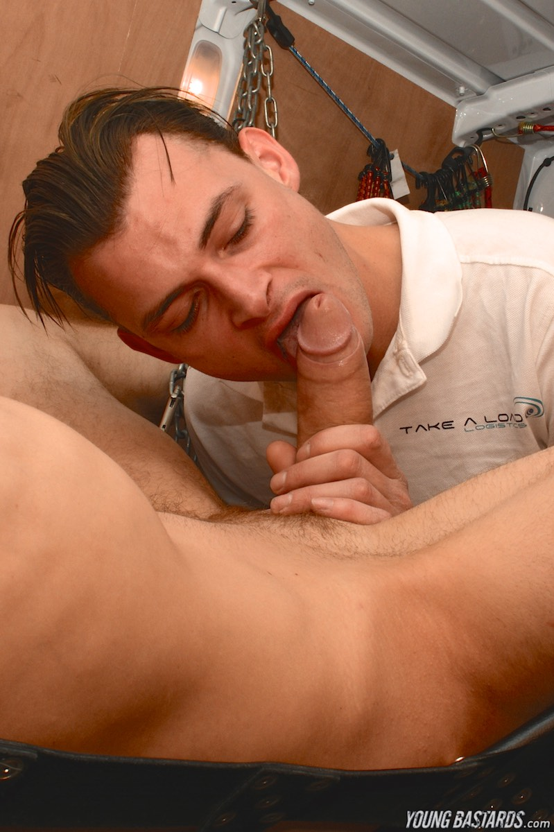 Young-Bastards-AJ-Alexander-and-Tony-Parker-Bound-Twink-Bareback-10 Bound Twink Gets Barebacked And Used In The Back Of A Van