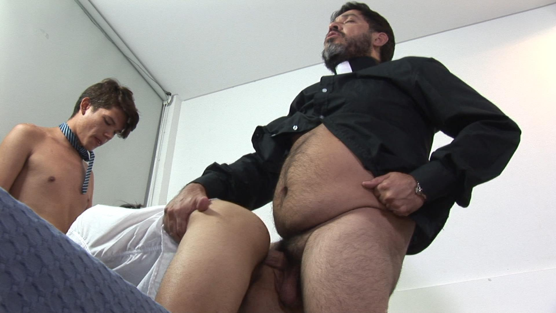 Bareback-Me-Daddy-Gay-Priest-Fucking-College-Students-19 Latin School Twinks Get Fucked By Their Older Catholic Priest