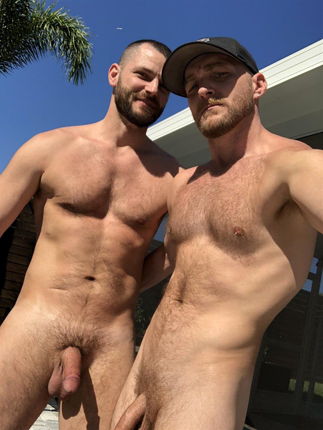 Deviant-Otter-Jake-Naked-Hairy-Guys-Amateur-Bareback-Sex-19-e1522800413865 Outdoor Bareback Flip Fucking With The Deviant Otter