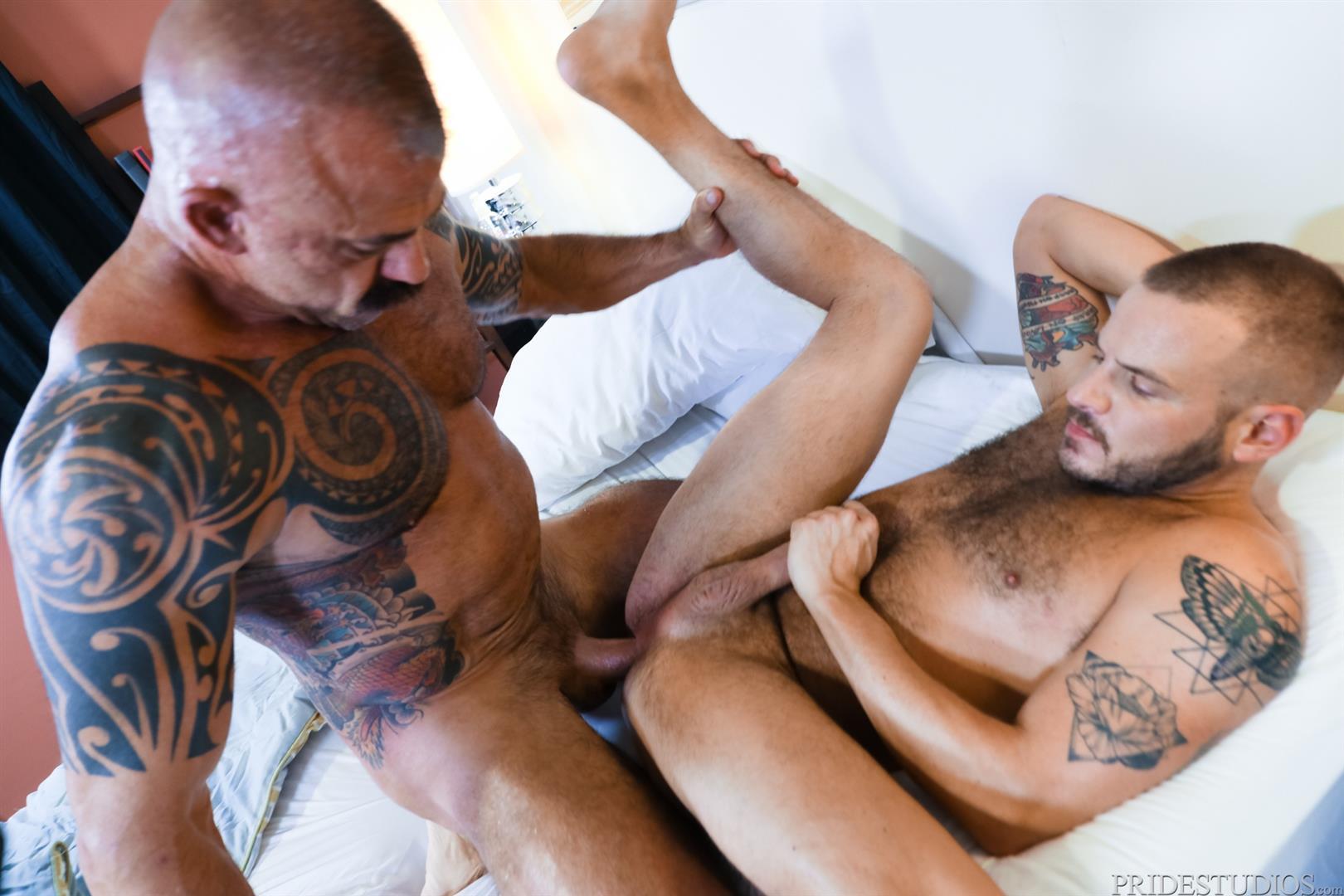 Men-Over-30-Jon-Galt-and-Sean-Harding-Muscle-Daddy-Barebacking-Muscle-Cub-14 Muscle Daddy Jon Galt And Muscle Cub Sean Harding Bareback Flipping